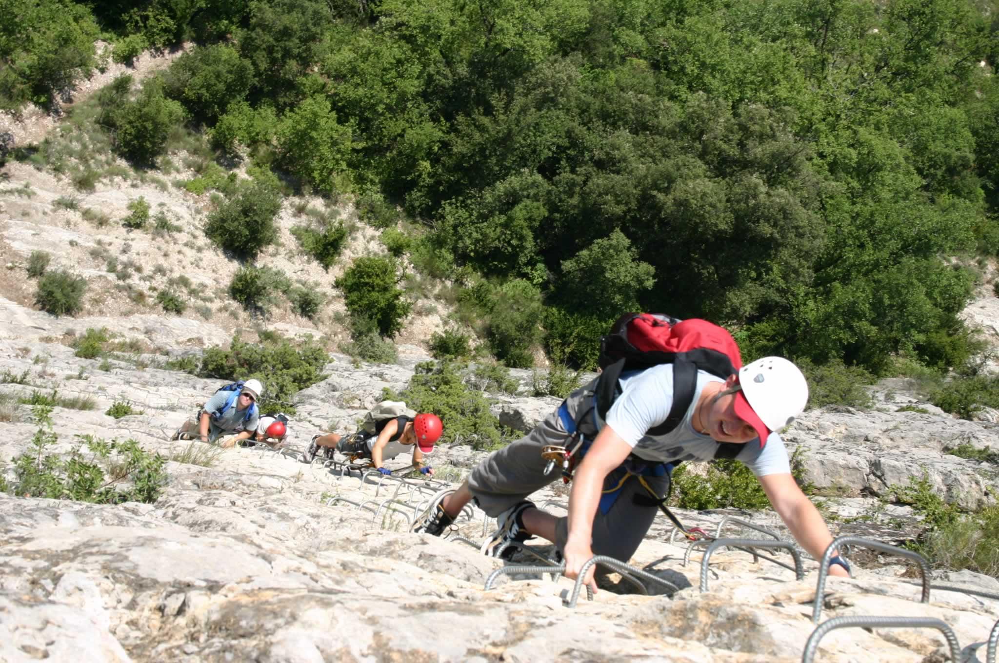 Klettersteig Verdon : Klettersteig